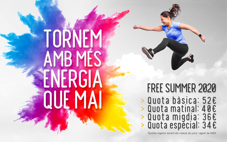 Imatge del blog en relació a la campanya Free Summer 2020